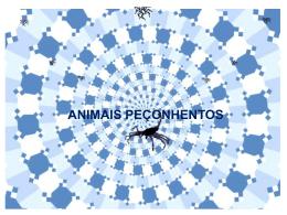 Apresentação: Animais Peçonhentos.