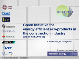 Green Init Energy Efficiency (Cyted 6 Out)