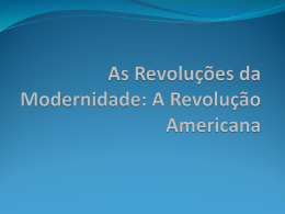 revolucaoamericana