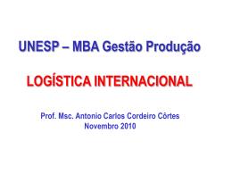 Palestra Guará_Logística Internacional - Nov