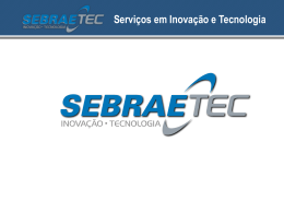 Serviços em Inovação e Tecnologia