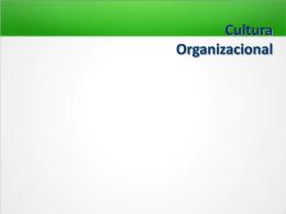 Cultura Organizacional - Docente