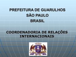 URB – AL - UNIÃO EUROPÉIA - Prefeitura de Guarulhos