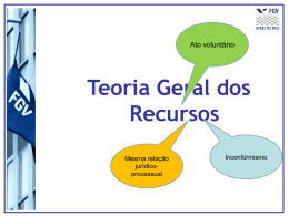 Aula2 - Parte I: Requisitos recursais