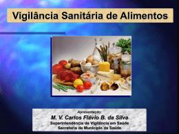 VIGILÂNCIA DE ALIMENTOS - Setor de Virologia UFSM