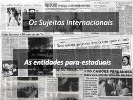 Beligerantes e Insurrectos - Faculdade de Direito da UNL