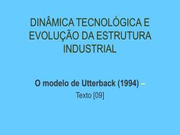 projeto tecnológico dominante