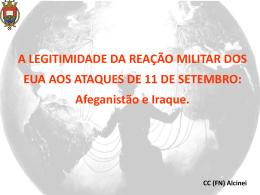 A LEGITIMIDADE DA REAÇÃO MILITAR DOS EUA AOS ATAQUES