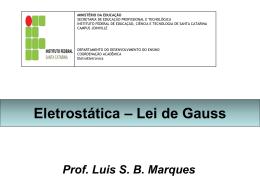 Lei de Gauss - Campus Joinville