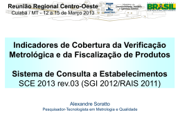 SORATTO Indicadores de Cobertura - Regional CO