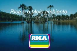 Rica e o Meio ambiente - Universidade Castelo Branco