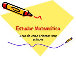 Estudar Matemática - Portal Educacional