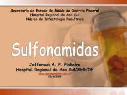 Sulfonamidas - Paulo Roberto Margotto