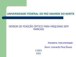 Universidade Federal do Rio Grande do Norte DCA - DEE