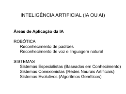 AI-Presentation File - Power Point (Aula dia 19/03/2003)