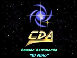 """Sessão Astronomia """"O `El Niño`"""""""