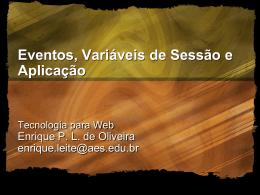 Aplicações Web - Objetivo Sorocaba