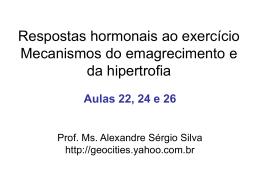 sistema endócrino e metabolismo no exercício