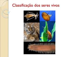 Classificação dos seres vivos - biologiahoje