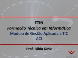 FTIN - Gestão Aplic..