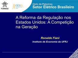 Regulação e Defesa da Concorrência – Aula 2 - Nuca