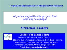 Apresentação do PowerPoint - Programa de Pós