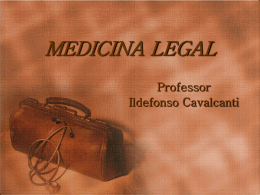 Professor Ildefonso Cavalcanti