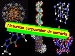Natureza corpuscular da matéria e pressão