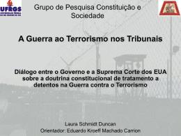 A Guerra ao Terrorismo nos Tribunais: