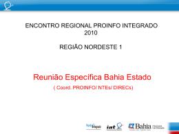 Coordenação ProInfo Bahia