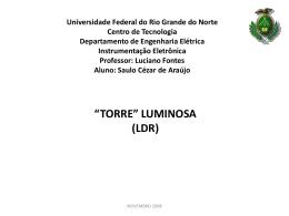 apresentação_SAULO - DEE - Departamento de Engenharia