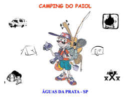 CAMPING DO PAIOL ÁGUAS DA PRATA