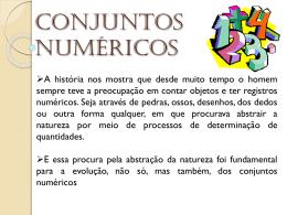 Conjunto Númerico