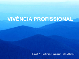 HISTÓRIA DA ENFERMAGEM - Universidade Castelo Branco