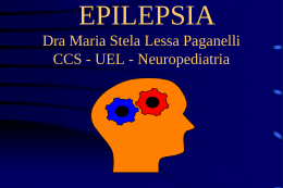 EPILEPSIA NA INFÂNCIA