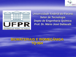 3Biomateriais3Metais - GEA - Universidade Federal do Paraná