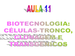 AULA 11 BIOTECNOLOGIA