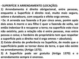 SUPERFÍCIE (CONTINUAÇÃO).