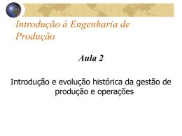 Aula 2 IEP 2006_2 - Teorias da Administração
