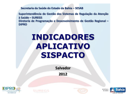 Indicadores do SISPACTO 17-07-201219