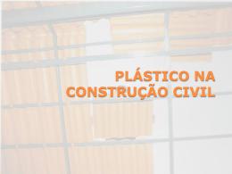 plástico na construção civil .plásticos