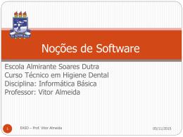 Software proprietário - Centro de Informática da UFPE