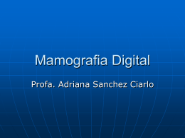 Mamografia Digital
