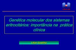 Biologia molecular aplicada aos grupos sanguíneos