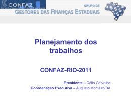 PROPOSTA DE TRABALHO 2011