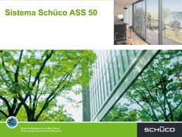 Sistema Schüco ASS 50 - sistemas de caixilharia para arquitectura
