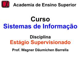 Academia de Ensino Superior Curso Sistemas
