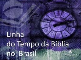 História da Biblia no Brasil