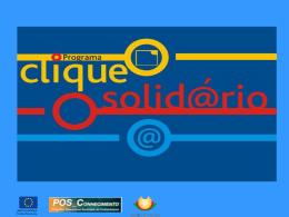Programa Clique Solidário