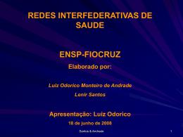 REDE INTERFEDERATIVA DE SAUDE